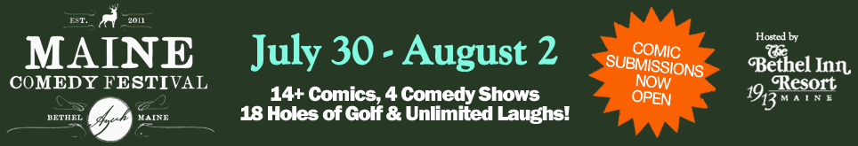 Maine Comedy Festival at The Bethel Inn Resort